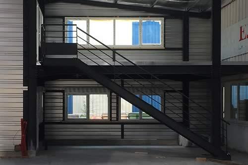 Serrurerie-métallerie escalier Batacier