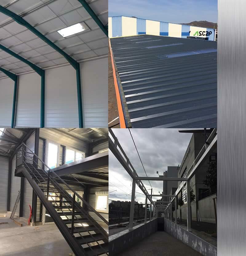 Batacier_escalier métal_construction entrepot metallique