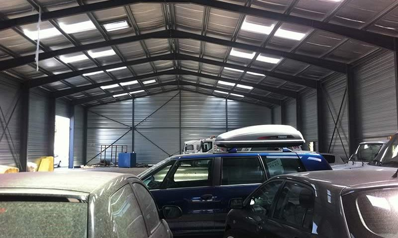 Batacier_construction de hangar metallique_Saint-Marcellin